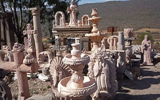 Where All Those Cantera Carvings Come From